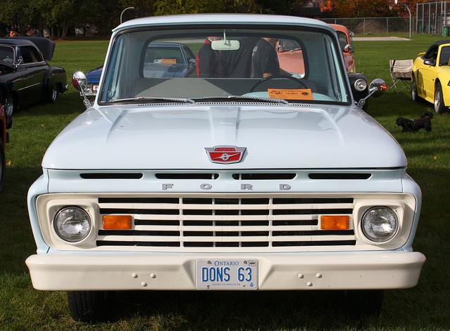 Ford Pickup 1963 foto - 2