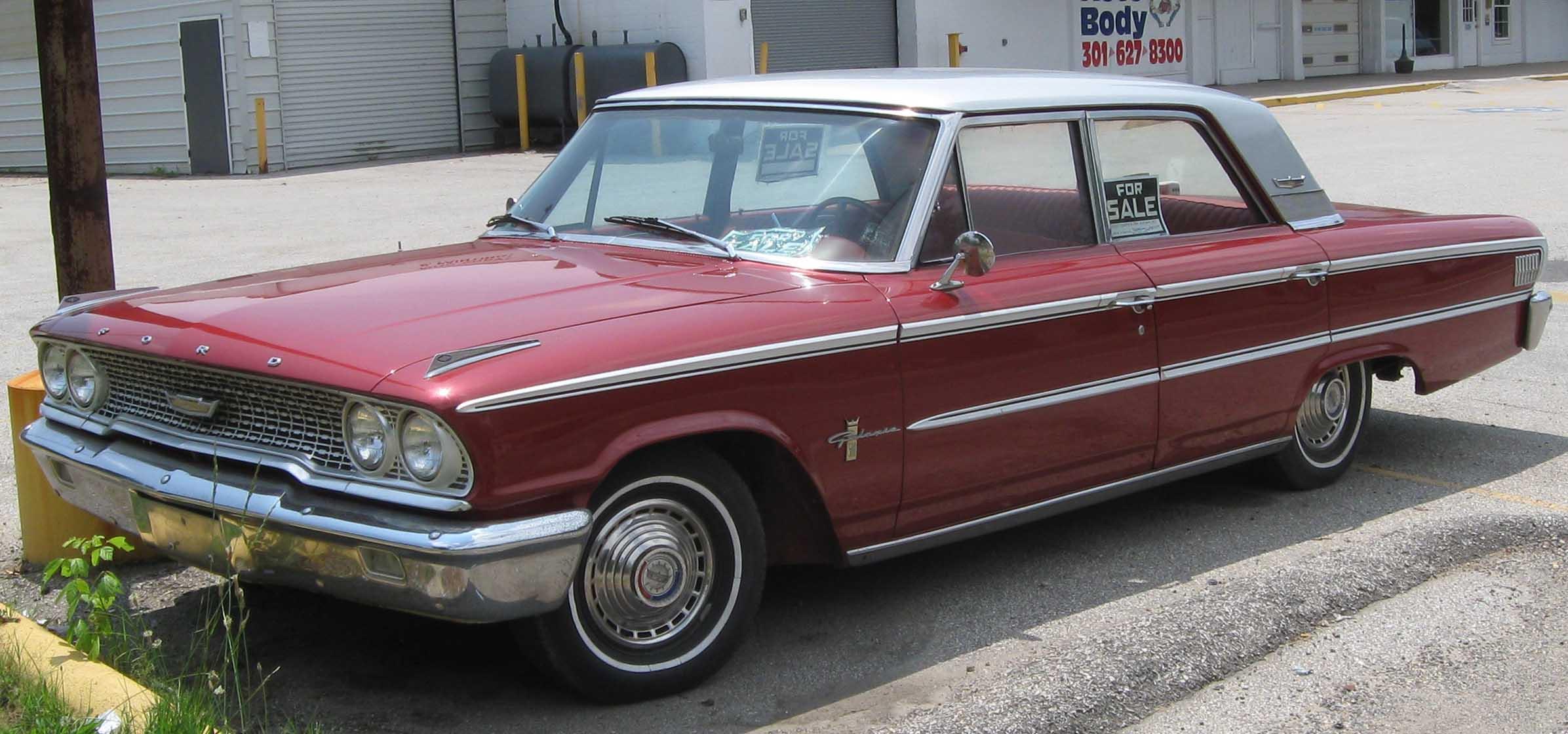Ford Pickup 1963 foto - 5