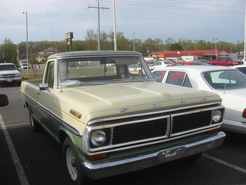 Ford Pickup 1970 foto - 1