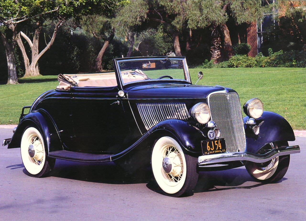 Ford Roadster 1933 foto - 1
