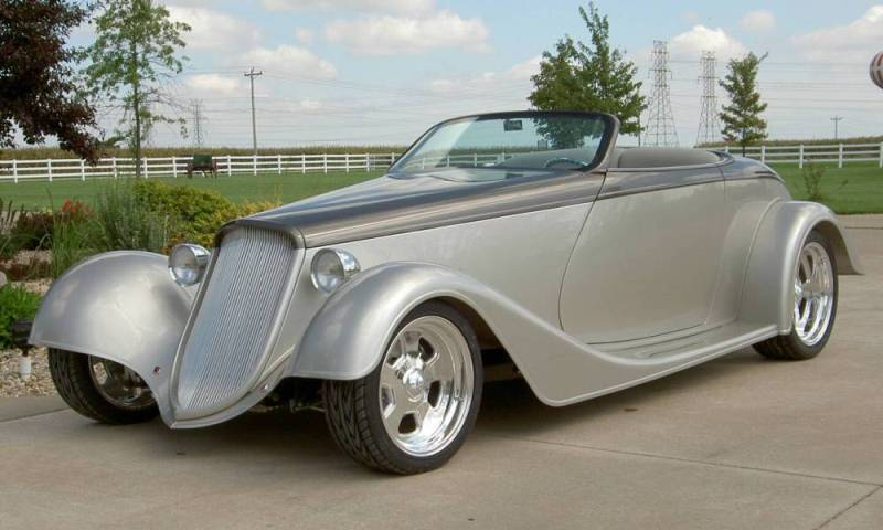 Ford Roadster 1933 foto - 5