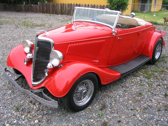 Ford Roadster 1934 foto - 1