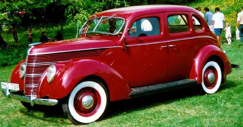 Ford Sedan 1938 foto - 5
