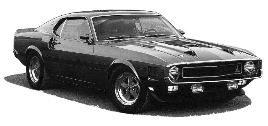 Ford Shelby 1969 foto - 2