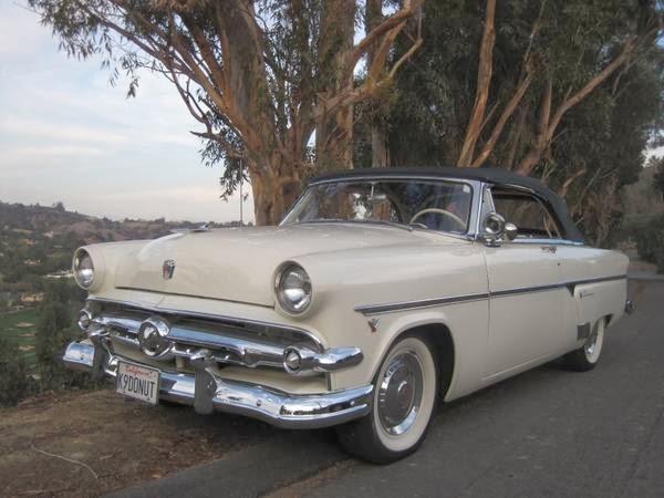 Ford Sunliner 1954 foto - 3