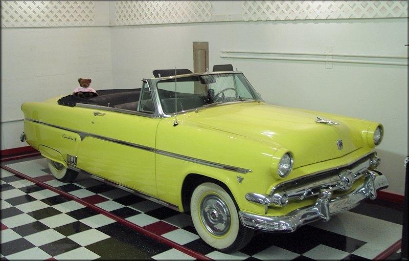 Ford Sunliner 1954 foto - 4