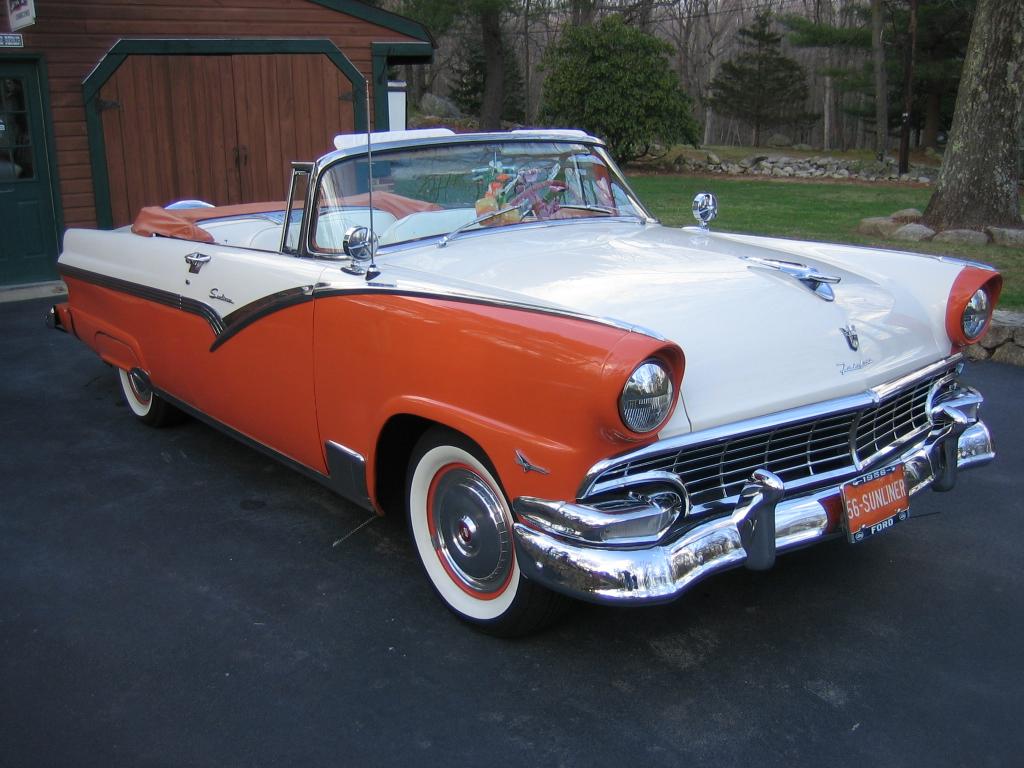 Ford Sunliner 1956 foto - 1