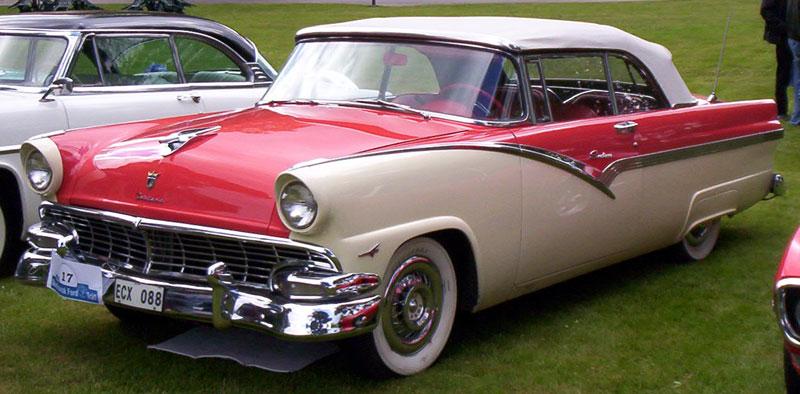 Ford Sunliner 1956 foto - 4