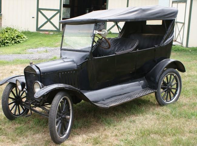 Ford T 1919 foto - 1