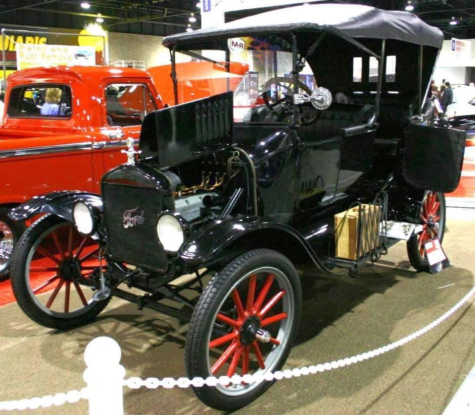Ford T 1919 foto - 2