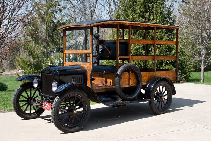 Ford T 1919 foto - 4