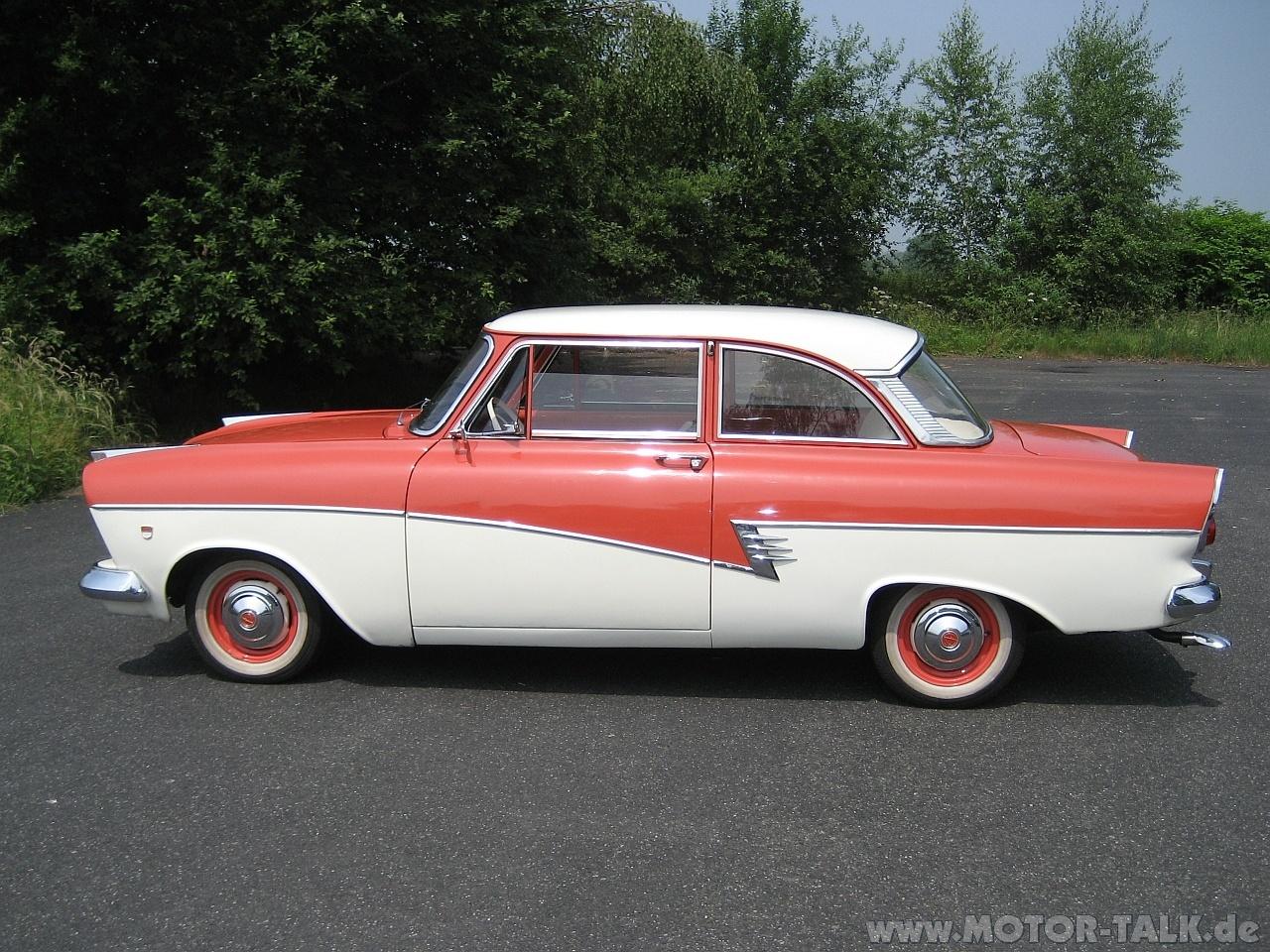 Ford Taunus 1958 foto - 3