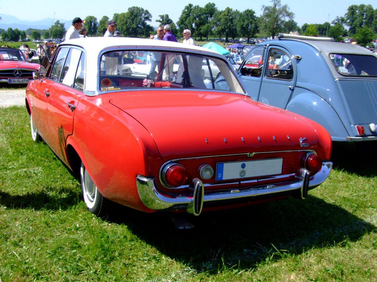 Ford Taunus 1961 foto - 5