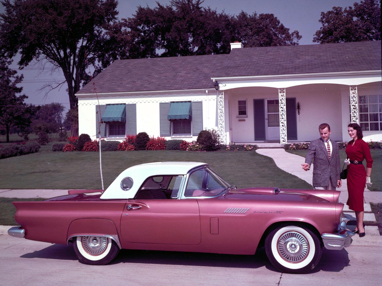 Ford Thunderbird 1950 foto - 1