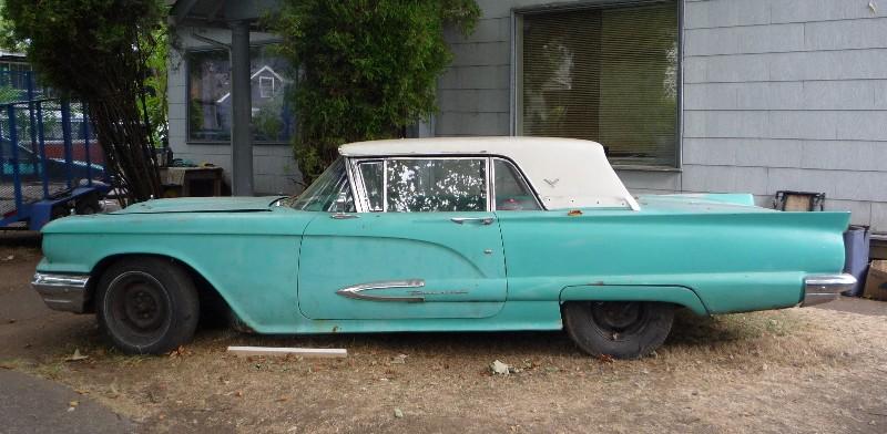 Ford Thunderbird 1958 foto - 1