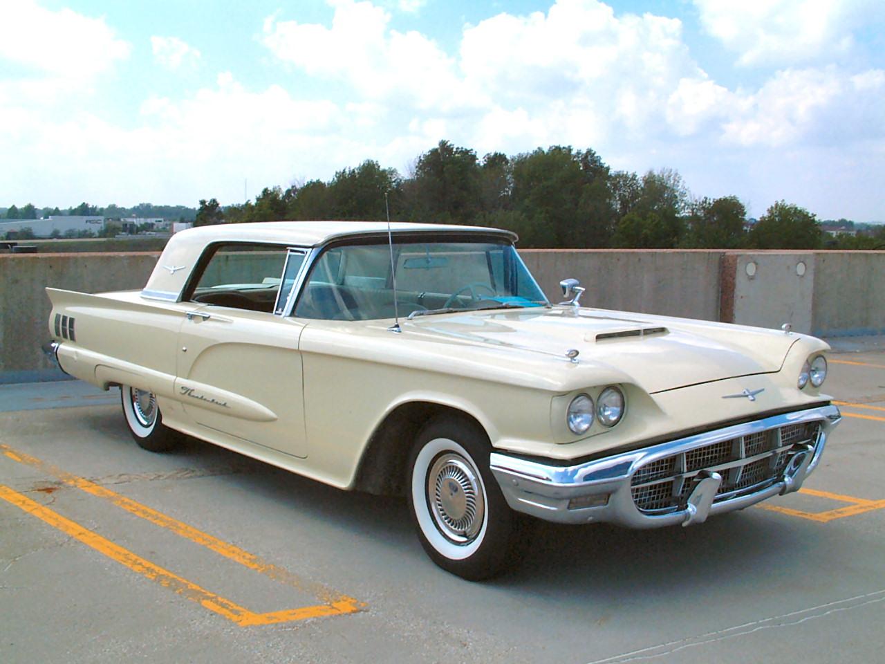 Ford Thunderbird 1960 foto - 4