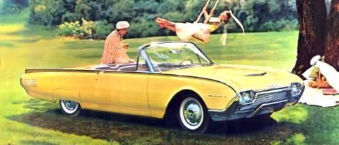 Ford Thunderbird 1961 foto - 4