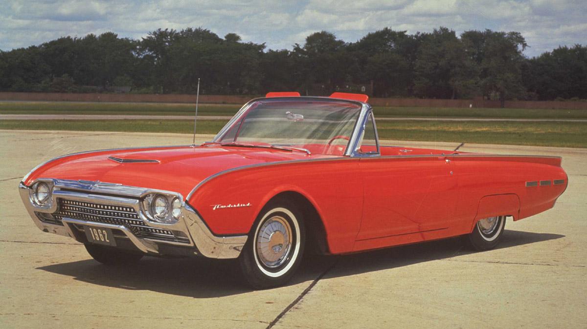 Ford Thunderbird 1962 foto - 2