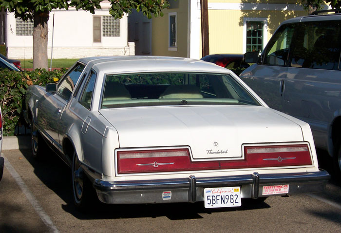 Ford Thunderbird 1977 foto - 1