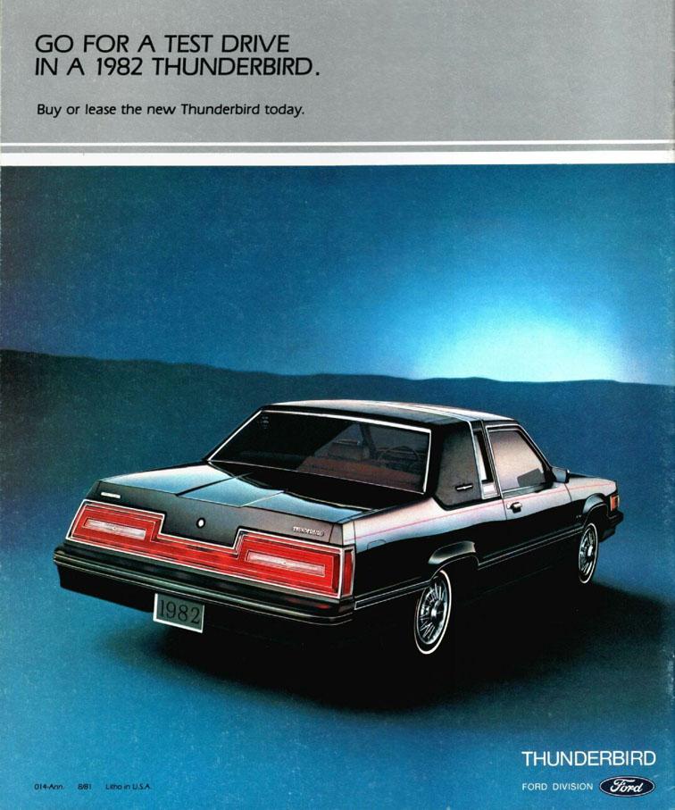 Ford Thunderbird 1982 foto - 1