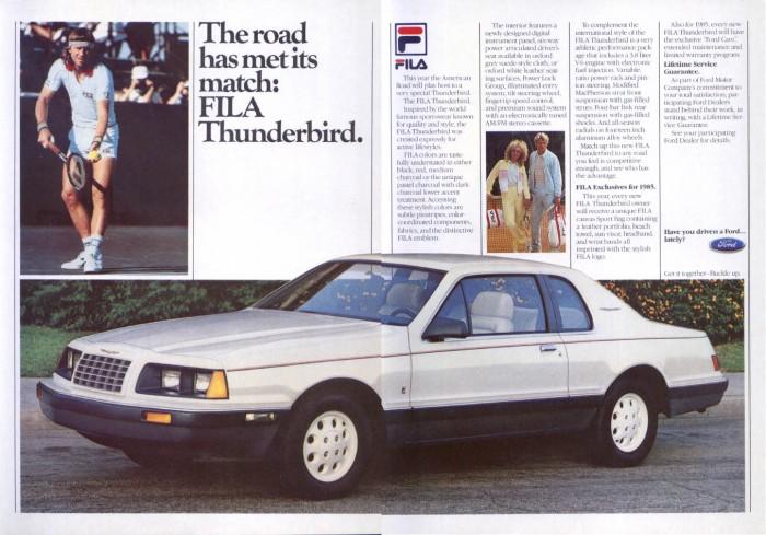 Ford Thunderbird 1984 foto - 3