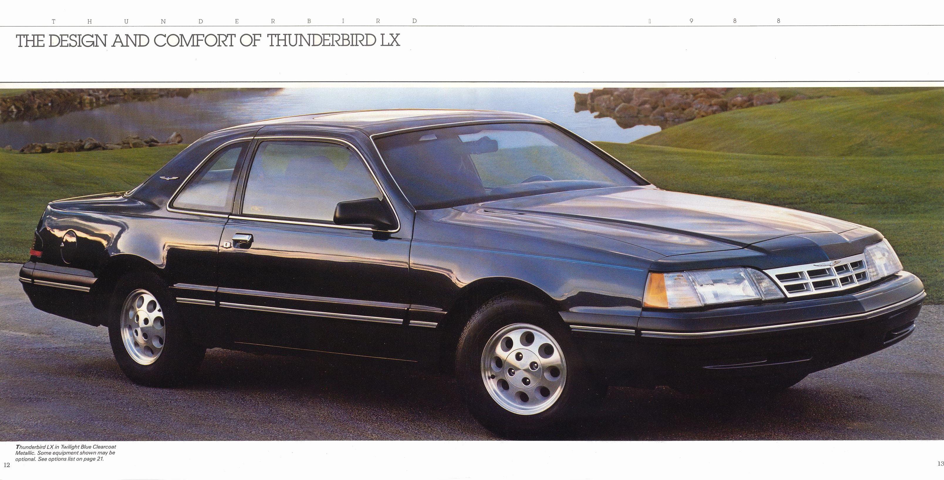 Ford Thunderbird 1986 foto - 2
