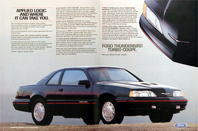 Ford Thunderbird 1987 foto - 1