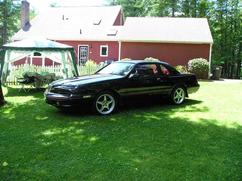 Ford Thunderbird 1988 foto - 2