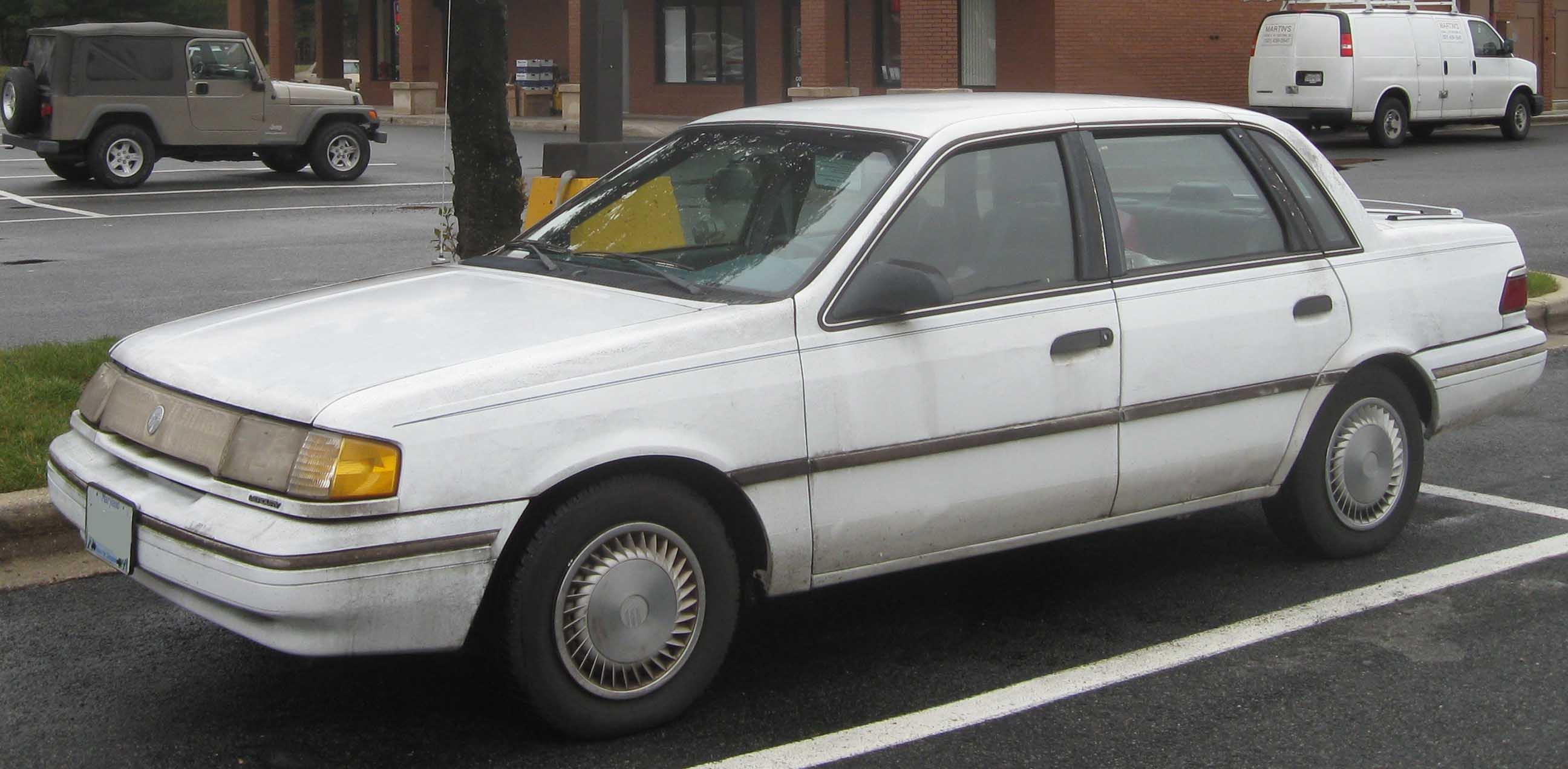 Ford Topaz 1992 foto - 2
