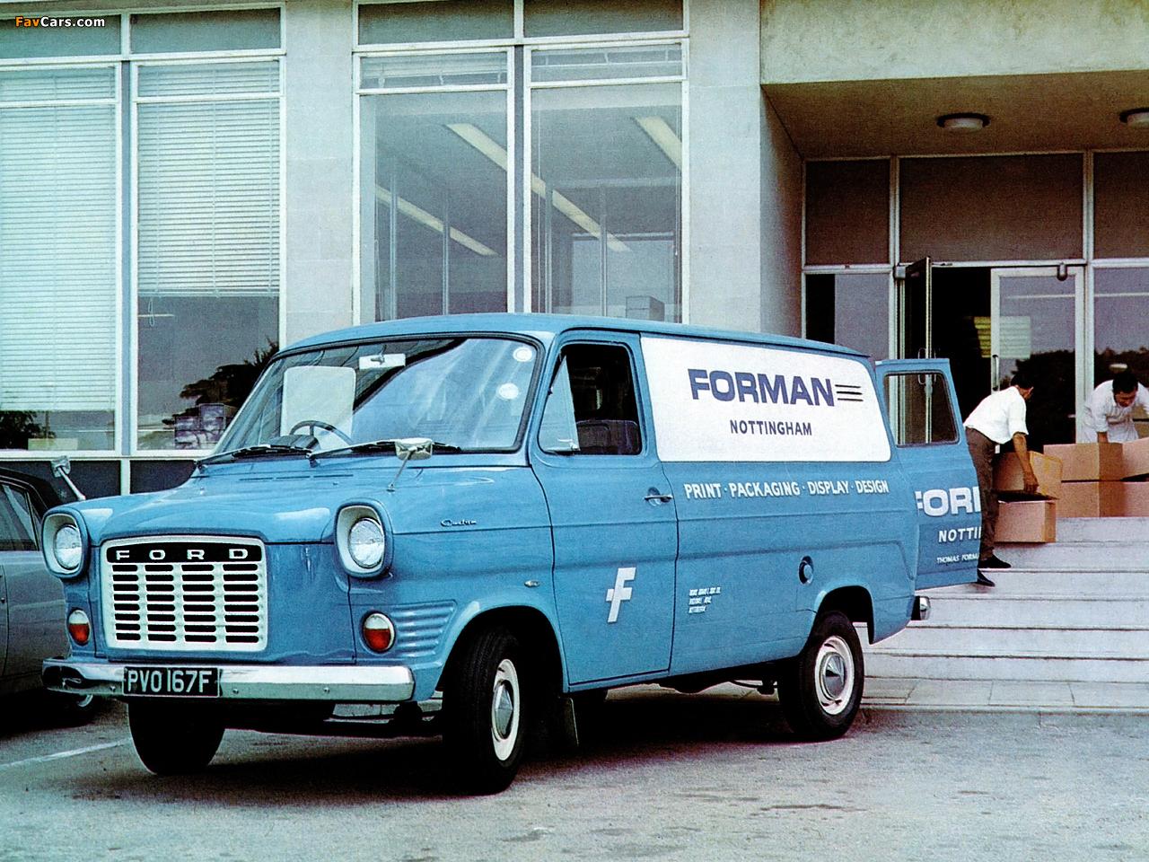 Ford Transit 1965 foto - 1