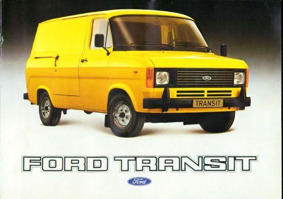 Ford Transit 1981 foto - 1