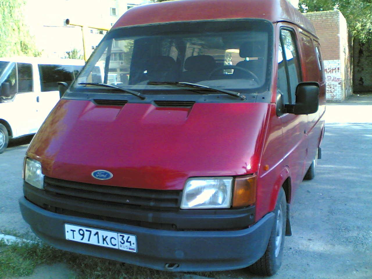 Ford Transit 1991 foto - 1