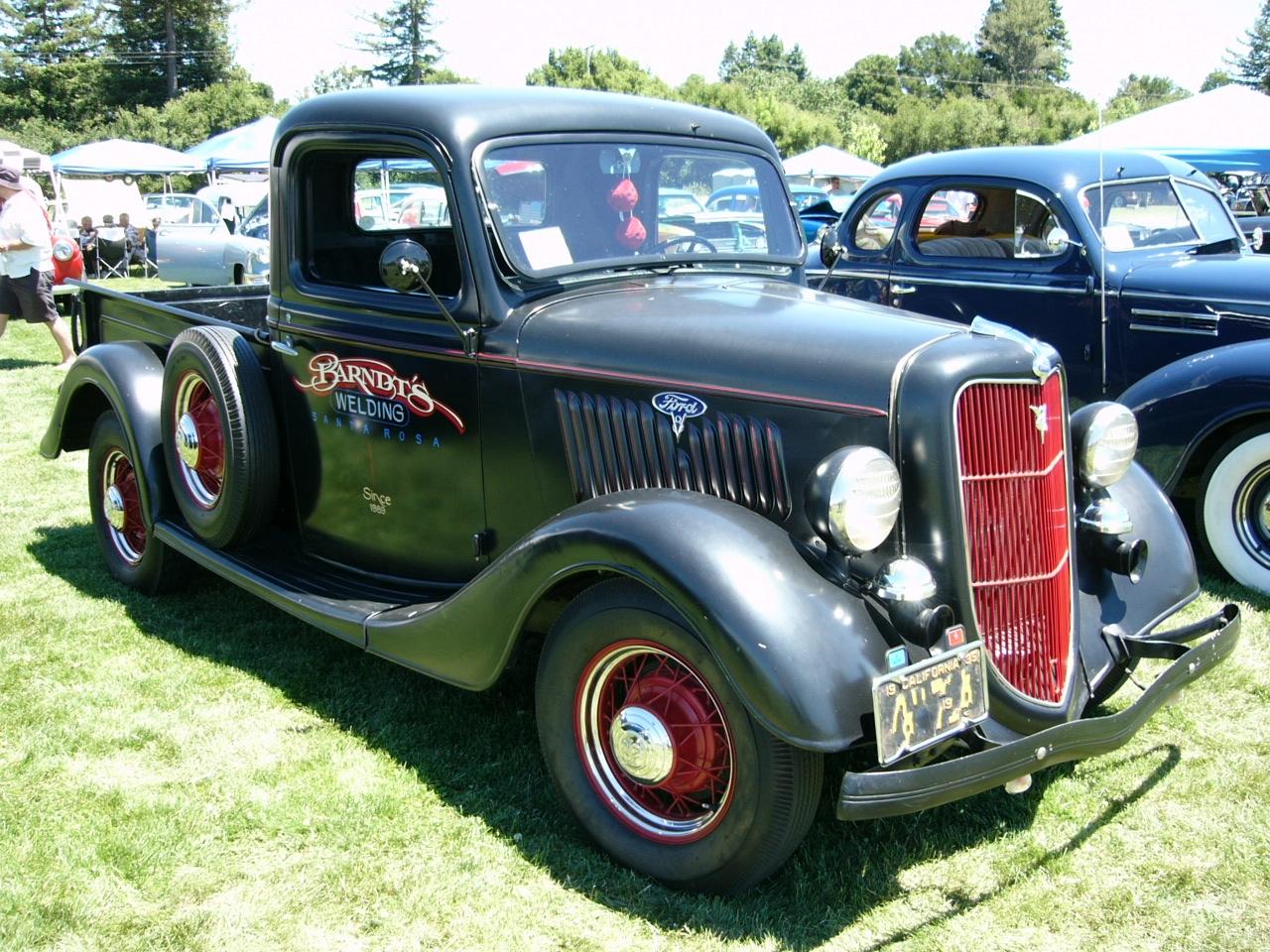 Ford Truck 1935 foto - 1