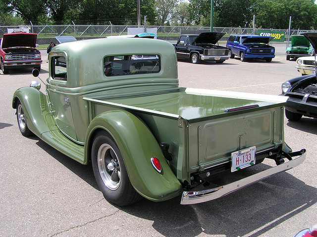 Ford Truck 1935 foto - 3