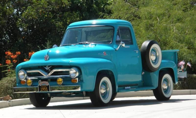 Ford Truck 1955 foto - 2