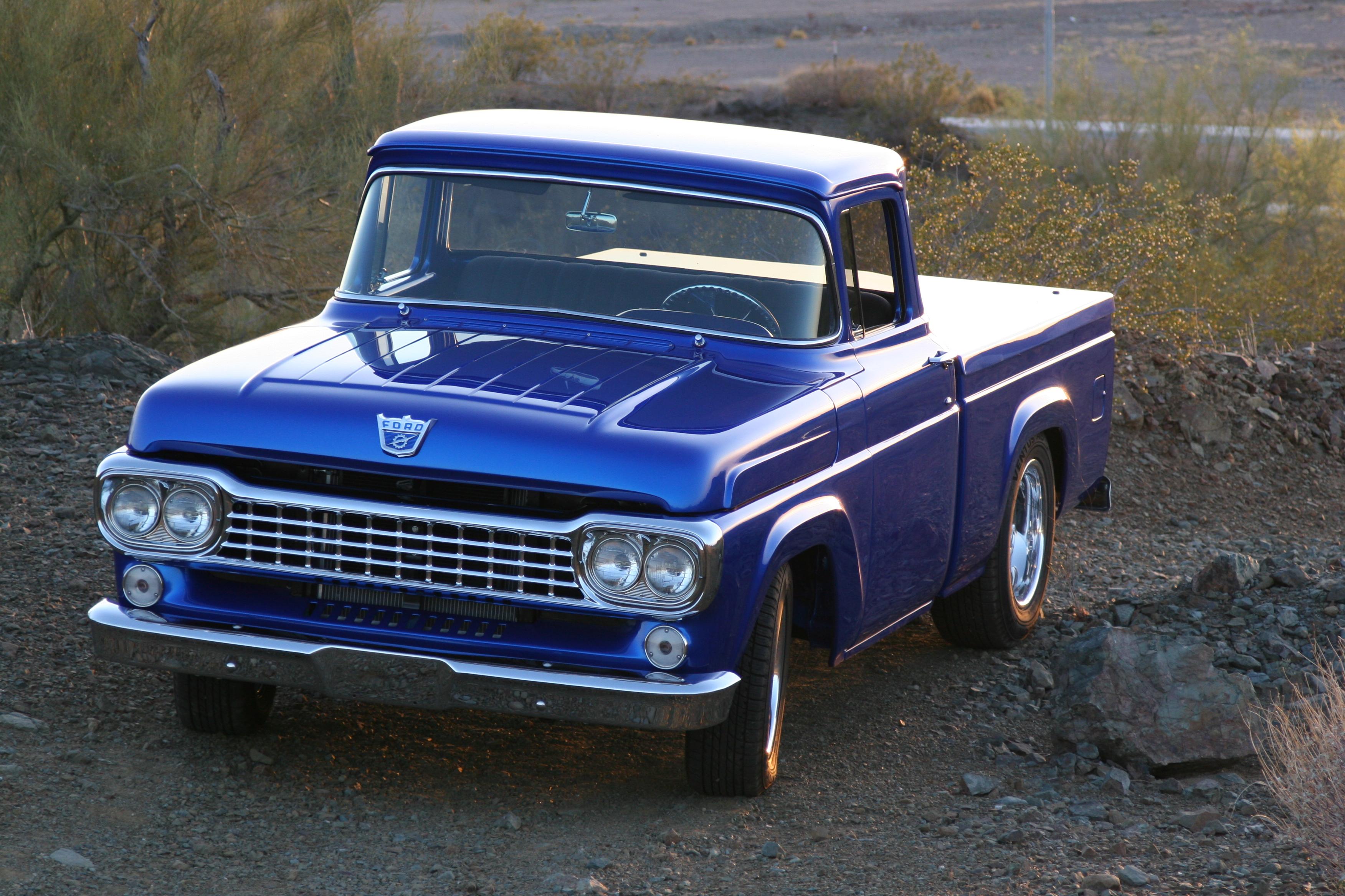 Ford Truck 1958 foto - 2