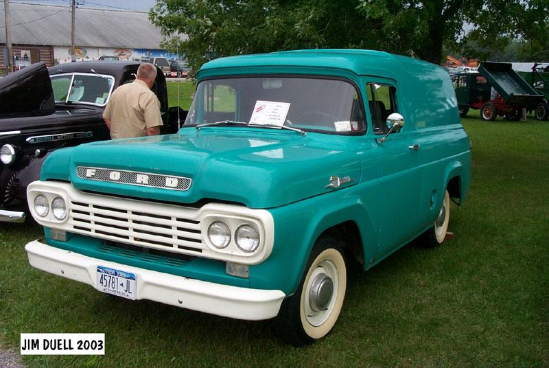 Ford Truck 1958 foto - 3