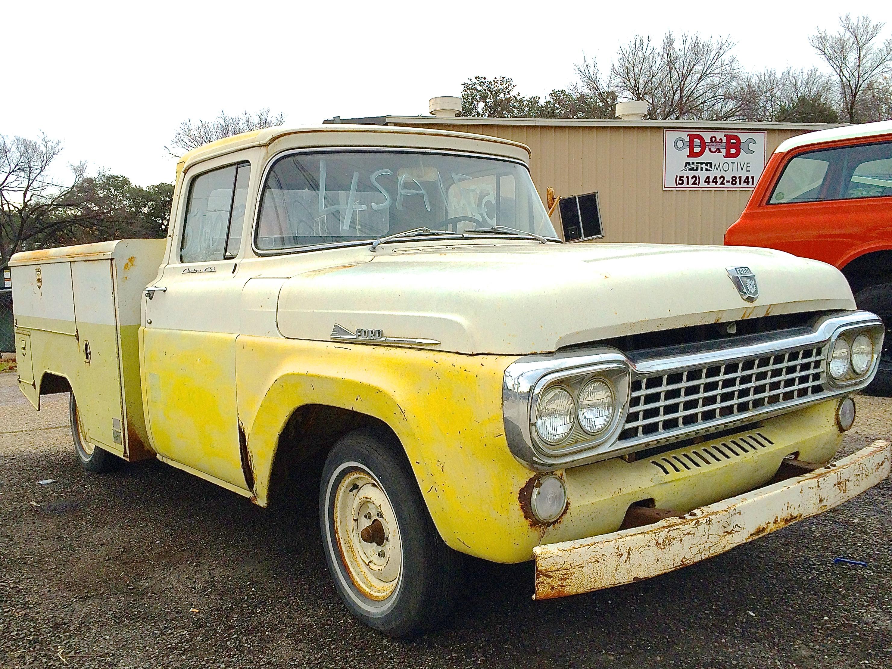 Ford Truck 1958 foto - 5
