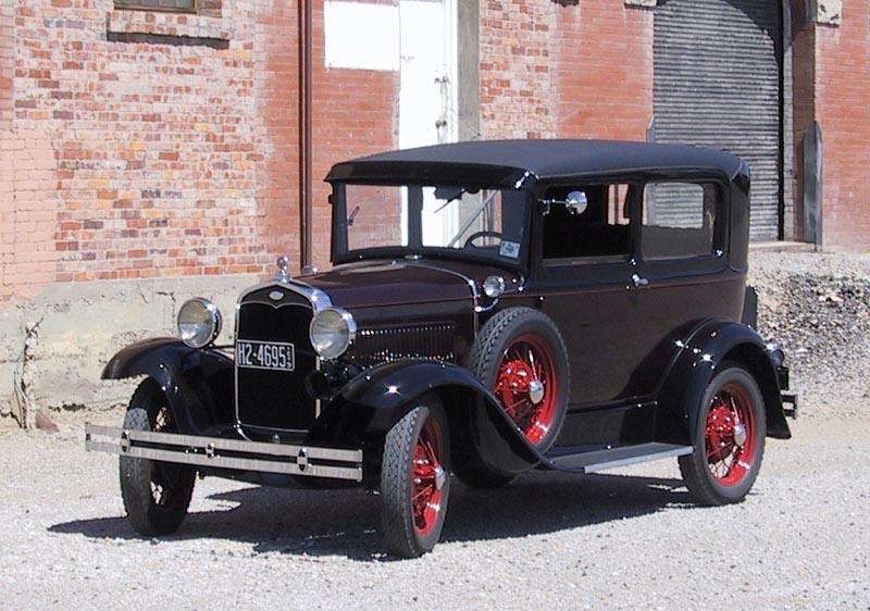 Ford Tudor 1930 foto - 4