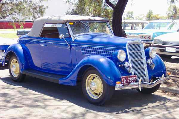 Ford V8 1935 foto - 1