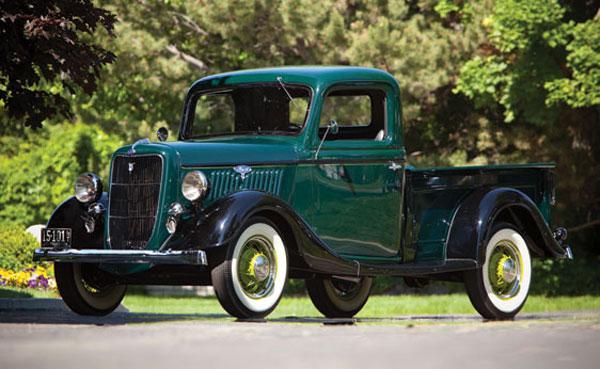 Ford V8 1935 foto - 2