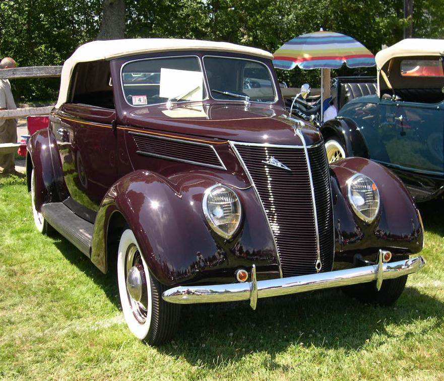 Ford V8 1937 foto - 2