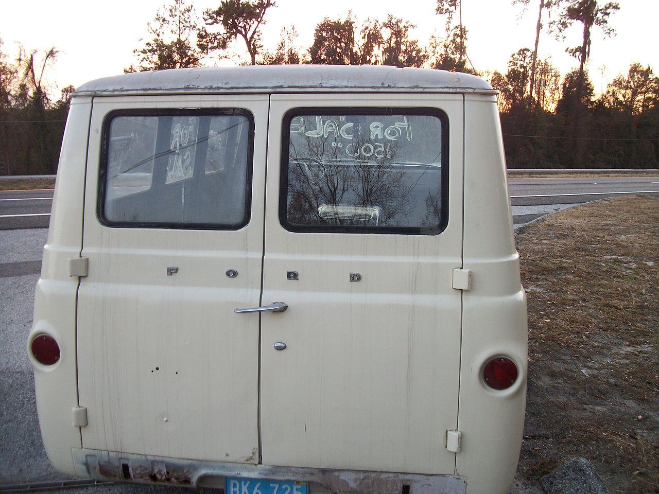 Ford Van 1960 foto - 3
