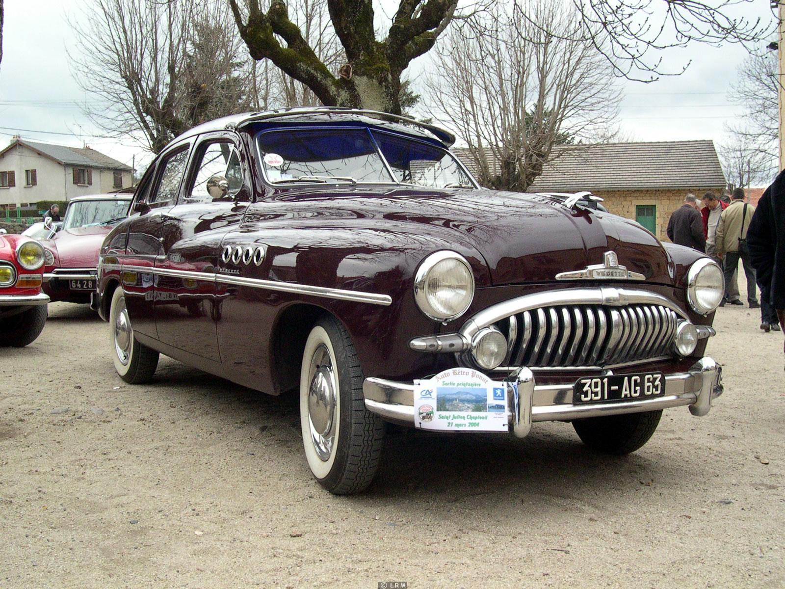 Ford Vedette 1952 foto - 5
