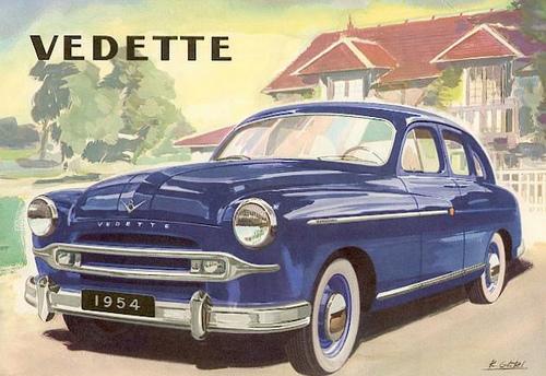 Ford Vedette 1954 foto - 5