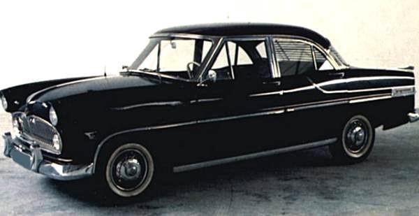 Ford Vedette 1957 foto - 3