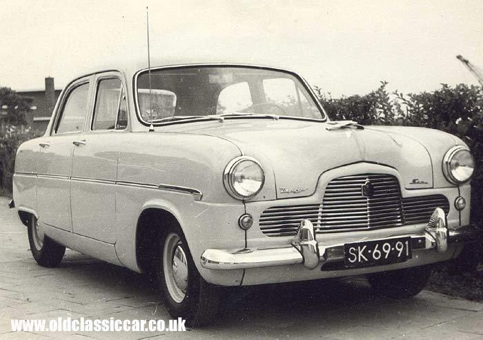 Ford Zephyr 1954 foto - 1