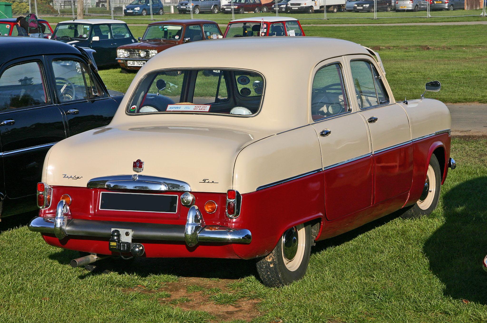 Ford Zephyr 1954 foto - 3