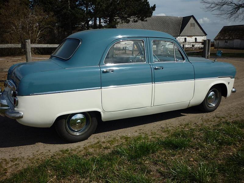 Ford Zephyr 1954 foto - 5