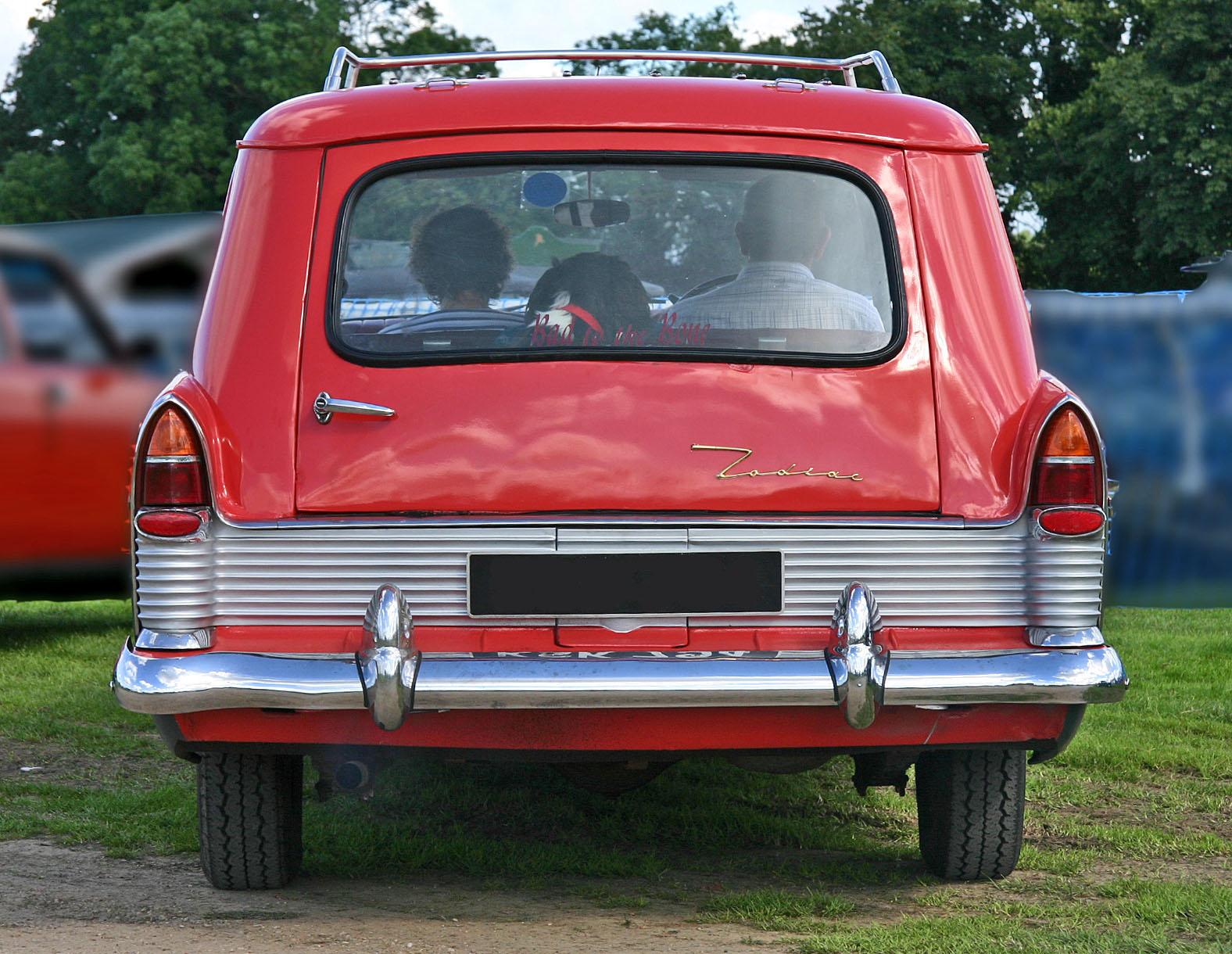 Ford Zephyr 1960 foto - 5
